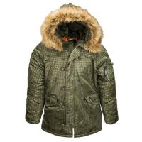 Куртка Аляска Slim Fit N-3B Parka (Alpha Industries)