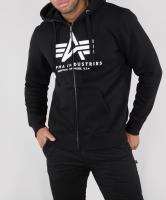 Толстовка Basic Zip Hoodie (Alpha Industries)