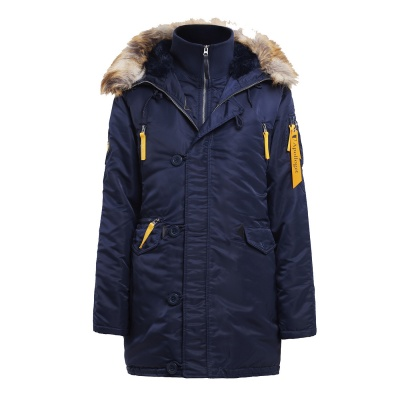 Куртка Husky Woman's Blue/Yellow (Apolloget)
