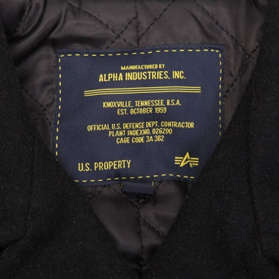 Бушлат Captain Pea Coat (Alpha Industries)