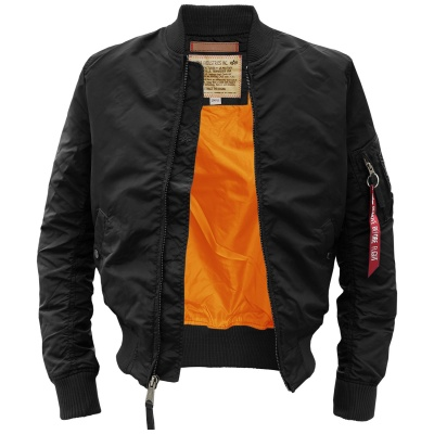 Бомбер MA-1 Light weight Jacket (Alpha Industries)