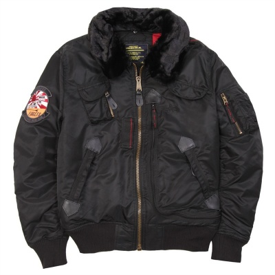 Бомбер Injector Flight Jacket (Alpha Industries)