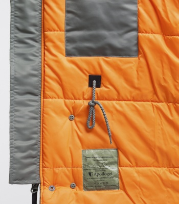 Куртка Аляска N-3B Husky Olive/Orange (Apolloget)